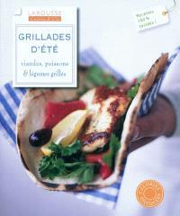 Grillades d'été : viandes, poissons & légumes grillés