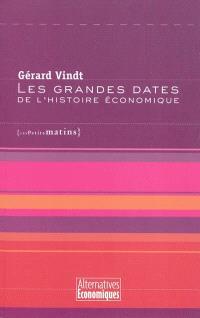 Les grandes dates de l'histoire économique