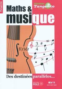 Maths & musique : des destinées parallèles