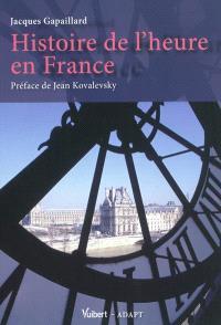 Histoire de l'heure en France