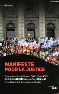 Manifeste pour la justice