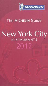New York city : restaurants 2012