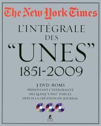 The New York Times : l'intégrale des unes 1851-2009