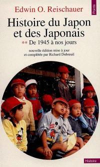 Histoire du Japon et des Japonais. Volume 2, De 1945 à 1970