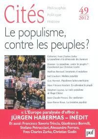 Cités. n° 49, Le populisme, contre les peuples ?