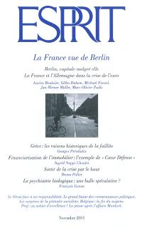 Esprit. n° 379, La France vue de Berlin