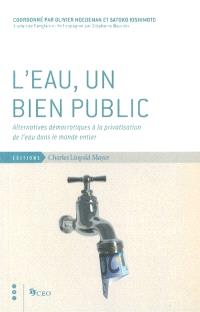 L'eau, un bien public : alternatives démocratiques à la privatisation de l'eau dans le monde entier