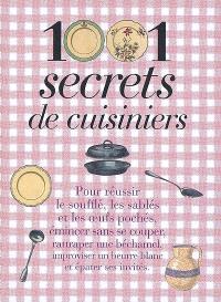 1.001 secrets de cuisiniers