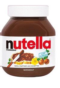 Livre forme Nutella
