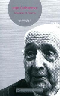 Jean Carbonnier : l'homme et l'oeuvre