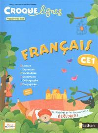 Croque-lignes : français CE1 : programmes 2008
