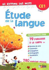 Etude de la langue CE1 cycle 2 : manuel de l'élève