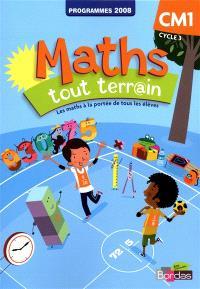 Maths tout terr@in CM1, cycle 3 : fichier de l'élève