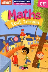 Maths tout terr@in CE1, cycle 2 : fichier de l'élève