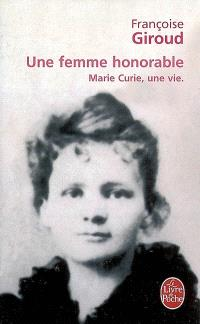 Une femme honorable