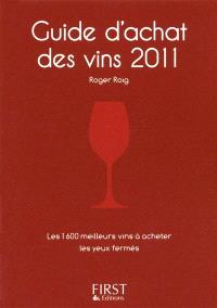 Guide d'achat des vins 2011