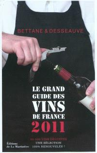 Le grand guide des vins de France 2011