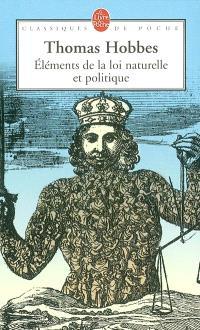 Eléments de la loi naturelle et politique