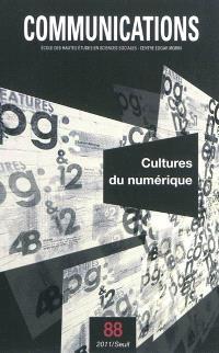 Communications. n° 88, Cultures du numérique