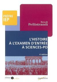 L'histoire à l'examen d'entrée à Sciences-Po