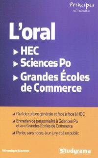 L'oral : HEC, Sciences Po, grandes écoles de commerce