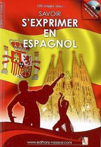Savoir s'exprimer en espagnol