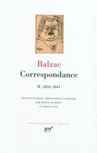 Correspondance. Volume 2, 1836-1841