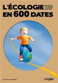 L'écologie en 600 dates : de la naissance de l'acupuncture au scandale des gaz de schiste