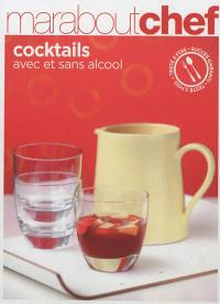 Cocktails avec et sans alcool
