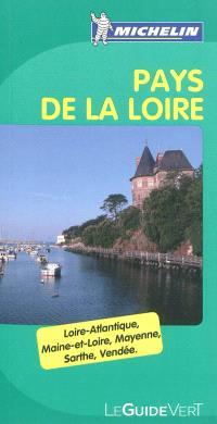 Pays de la Loire : Loire-Atlantique, Maine-et-Loire, Mayenne, Sarthe, Vendée