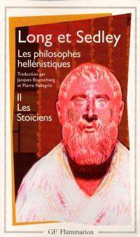 Les philosophes hellénistiques. Volume 2, Les stoïciens