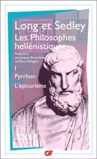 Les philosophes hellénistiques. Volume 1, Pyrrhon, l'épicurisme