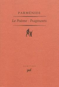 Le poème : fragments