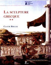 La sculpture grecque. Volume 2, La période classique