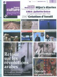 France Culture papiers. n° 1