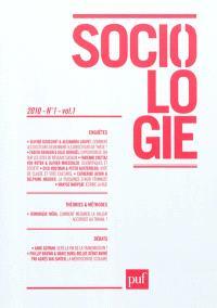 Sociologie. n° 1 (2010)