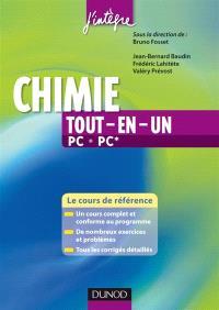 Chimie tout-en-un PC-PC* : le cours de référence