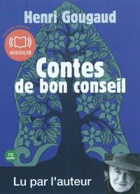 Contes de bon conseil : une sélection de contes lus par l'auteur