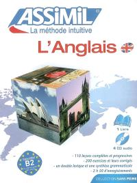 L'anglais : pack CD audio