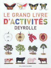 Le grand livre d'activités Deyrolle
