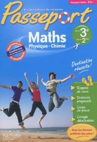 Passeport maths, physique-chimie, de la 3e vers la 2de