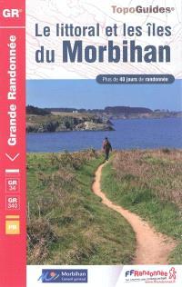 Le littoral et les îles du Morbihan : plus de 40 jours de randonnée