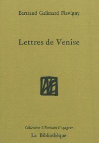 Lettres de Venise