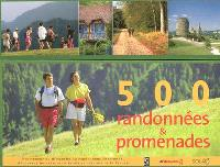 500 randonnées & promenades en France
