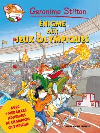 Geronimo Stilton, Enigme aux jeux Olympiques