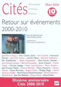 Cités, hors série, Retour sur événements, 2000-2010