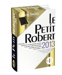Coffret Petit Robert 2013
