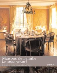 Maisons de famille : le temps retrouvé