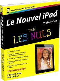 Le nouvel iPad 3e génération pour les nuls