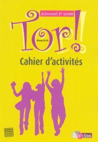 Allemand 1re année : cahier d'activités